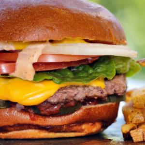 Gourmet Burger Deal this Saturday