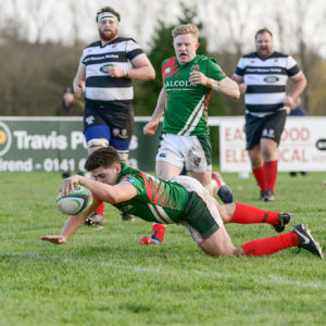 GHA overcome a spirited Kelso side