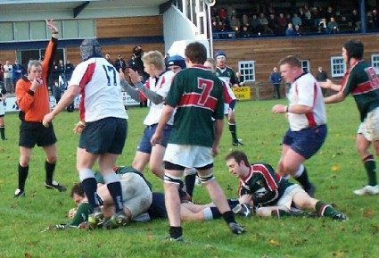 GHA LOOSE OUT IN GAME OF TWO HALVES