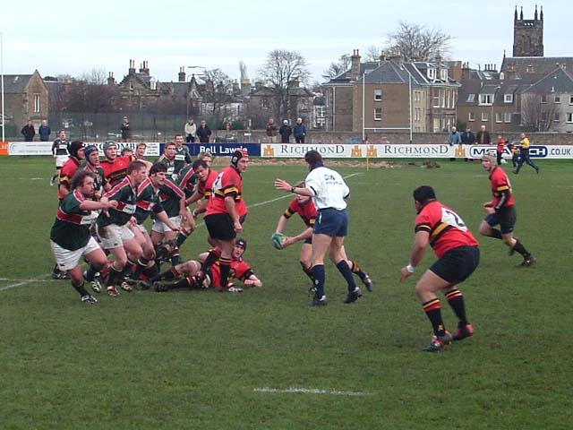 GIANT-KILLING AS GHA DOWN PREMIERSHIP OPPONENTS AT INVERLEITH