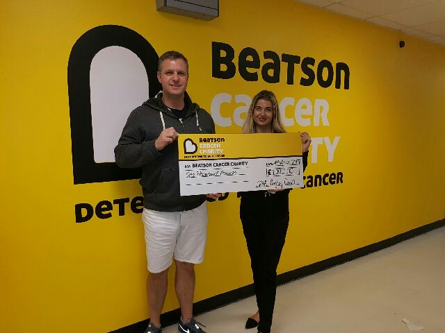 GHA raise £1000 for Beatson Cancer Charity