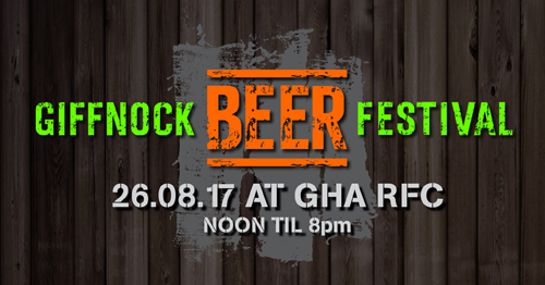Giffnock Beer Festival – Tickets on sale now!