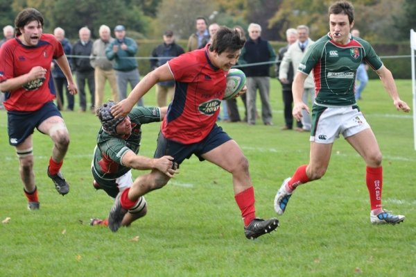 GHA SNATCH DEFEAT FROM THE JAWS OF VICTORY AT HADDINGTON